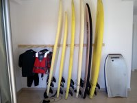Sup and bodyboard surf equipment
