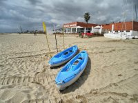 海上皮划艇皮划艇在海上的所有戏