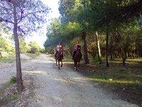 Sendero a caballo