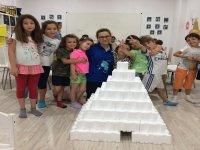 Construyendo una piramide