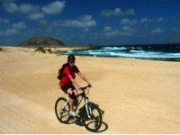 Pedaleando en la costa canaria