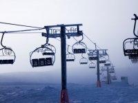 Double-felt ski lift
