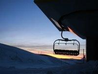 日落在位于Pallars标志