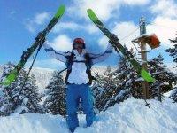 滑雪滑雪学校对接