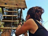 Muro per arrampicarsi