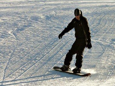 Estació Alta Muntanya Tavascan Pleta del Prat  Snowboard
