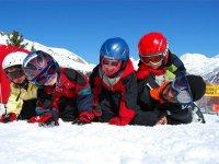 escuela infantil de esqui