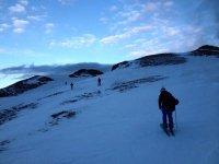 esqui de fondo en la montaña