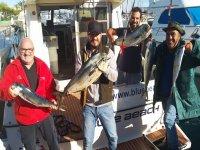 Regresando con la pesca