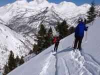 做越野滑雪北欧滑雪缆车