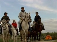 Horse riding from Higuera La Real. 2h.