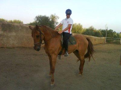 在Higuera La Real骑马课程1小时