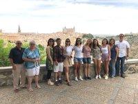 Visitando Toledo en familia