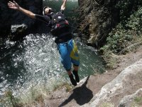 Canyoning in ravines