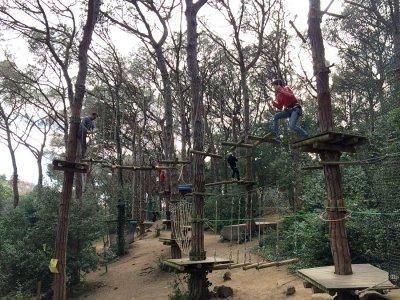 Zip-Line Park Arenys de Munt & Menu, Adults