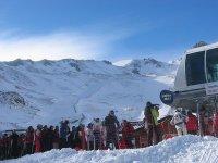Desde la estación de esquí de San Isidro