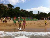 Abbandono della spiaggia