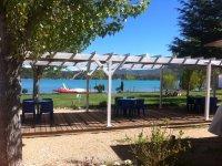 Instalaciones al lado del lago