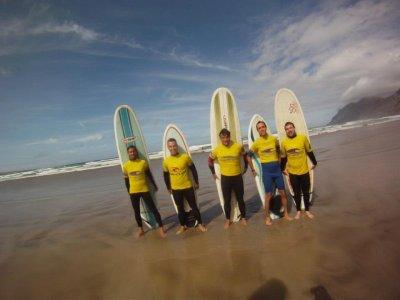 Costa N-Oeste Campamentos de Surf