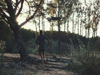 Senderismo mientras corres