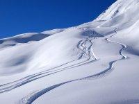 滑雪者的路径