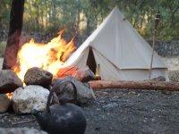 Construccion de campamento