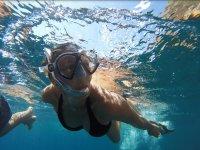 Snorkel en la isla