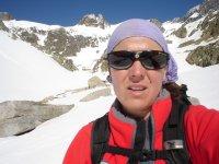 比利牛斯山脉的雪鞋行走路线