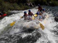Rafting en rio andaluz