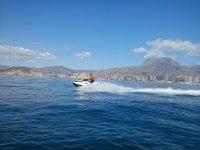 Velocidad en mar abierto