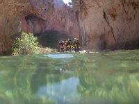 a spectacular ravine