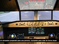 双重控制仿真飞行模拟器视