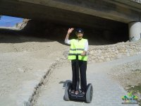Going downhill on Segway