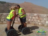 Kiss on Segway