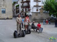 Segway ride through the city center