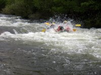 In the rapids
