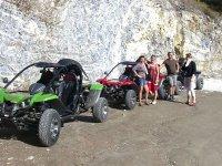 Grupo de ruta en buggy por Torrox