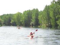 Descenso del Tormes en canoas
