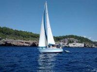 在梅诺卡岛梅诺卡岛船的Menorcan艇帆船