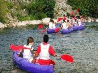Crossings in kayaks