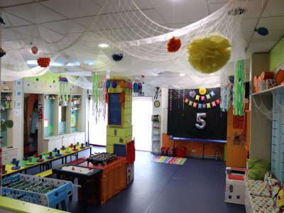 Centro de Ocio Infantil Fishbowl Parques Infantiles