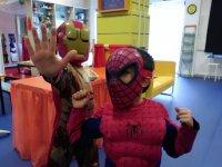 Nuestros peques superheroes
