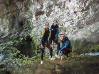 Paisajes en las cuevas
