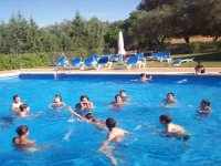 ACTIVITIES IN THE SWIMMING POOL