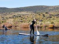 Paddle surf en el Burguillo