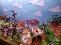Escenario de dinosaurios