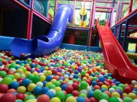 Slides to the ball pool