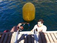 pronto per l'immersione