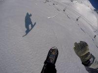 Snowboard individual en Baqueira