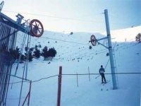 滑雪和滑雪区